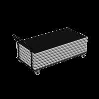 Eurotruss - Trolley for decks - Flat