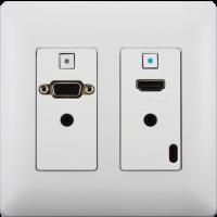 Aurora - DXW-2- White - 2 input HDBaseT™ transmitter