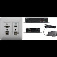 Aurora - DXW-2EUH-S2- White - 2 input HDBaseT™ transmitter set