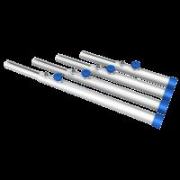 Eurotruss - Round leg - 120-190cm - Telescopic