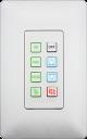 Aurora - DXB-8i-W - 8-button backlit IP controller