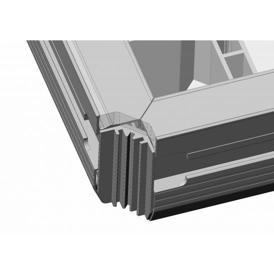 Eurotruss - Pro Deck 100X50CM - R corner