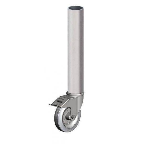 Eurotruss - Round leg - 40cm - with castor wheel & brake