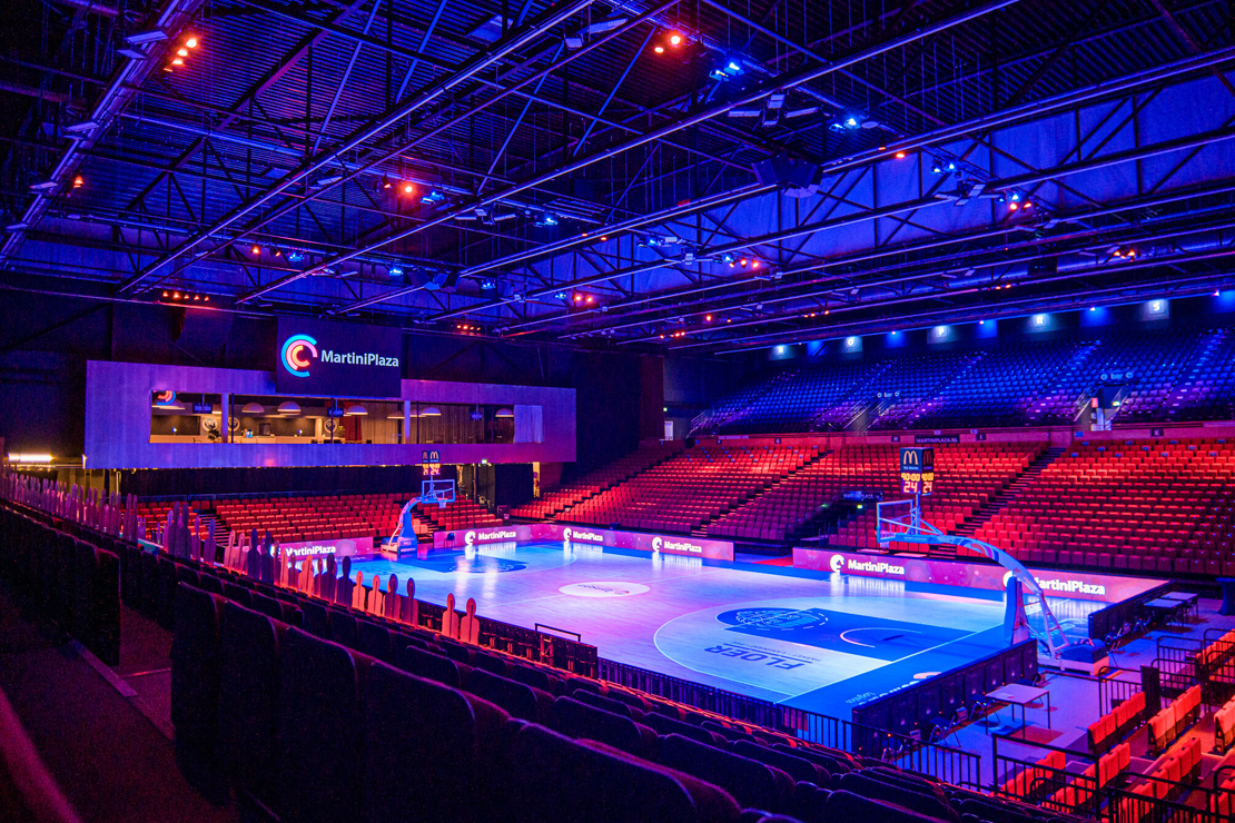 Top lighting for Topsporthal in MartiniPlaza