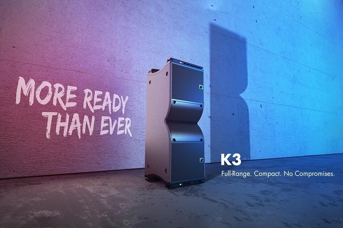 L-Acoustics introduceert K3